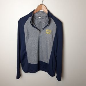 Under Armour   Notre Dame 1/4 Zip Pullover